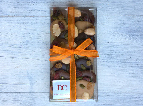 Déclinaison Chocolat - Mendiants Chocolat Noir, Lait Et Blond
