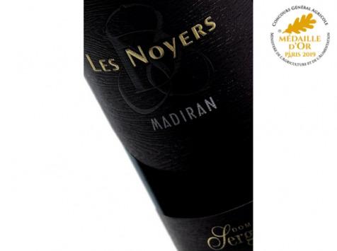 """Domaine Sergent - Madiran 2018 """"Les Noyers"""" - Lot de 6 bouteilles"""
