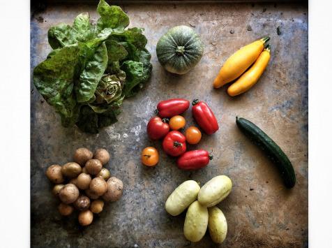 La Ferme d'Artaud - Panier De Légumes Frais (petit)