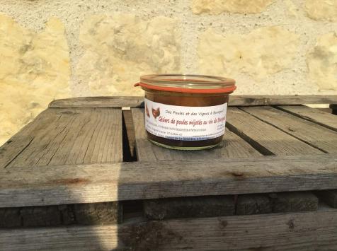 Des Poules et des Vignes à Bourgueil - Gésiers De Nos Volailles Mijotés Au Vin De Bourgueil
