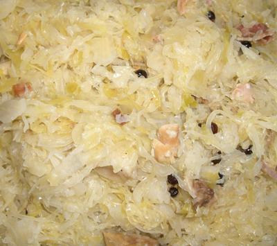 Ferme de Montchervet - Choucroute cuisinée aux lardons, 500 g