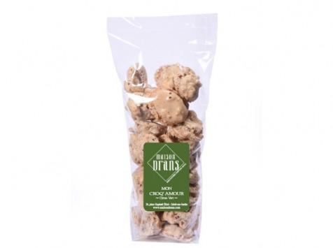 Biscuiterie Maison Drans - Croq'amour au Citron Vert - 100 g