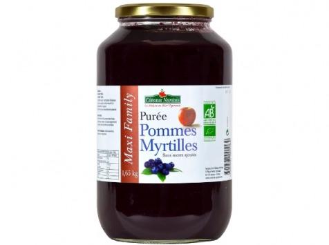 Les Côteaux Nantais - Purée Pommes Myrtilles1,65 Kg