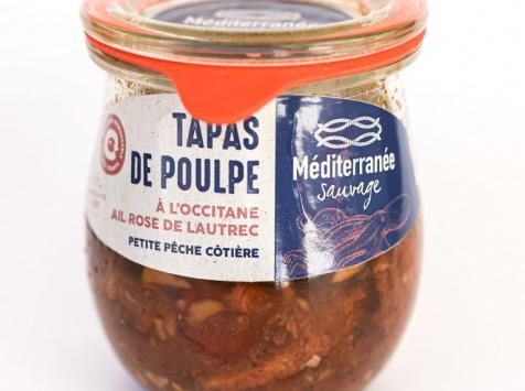 Méditerranée Sauvage - Tapas de Poulpe à l'Occitane - Ail Rose de Lautrec