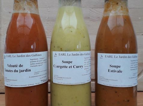 Le Jardin des Gallines - Soupes Lot Des 3 Soupes Du Jardin