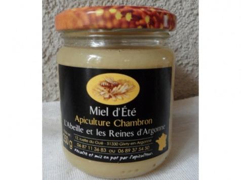 Apiculture Chambron L'Abeille et les reines d'Argonne - Miel D'été D'argonne 1kg