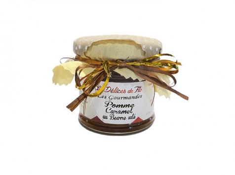 Fromagerie Seigneuret - Confiture De Pomme Caramel Au Beurre Salé