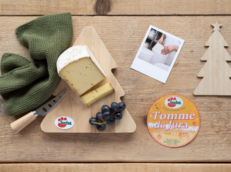 Constant Fromages & Sélections - La Tomme Du Jura Au Lait Cru - 1000g