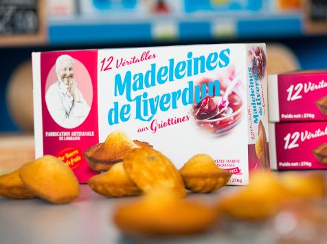 Les Véritables Madeleines de Liverdun - Boîte De 12 Véritables Madeleines De Liverdun Griotte