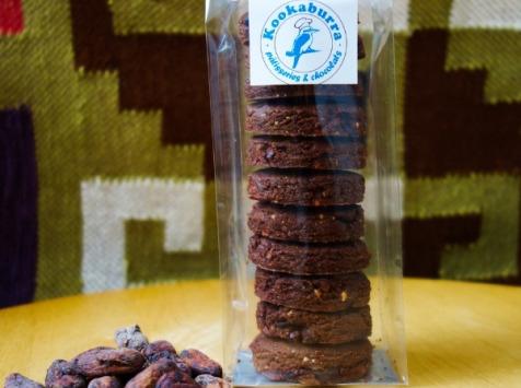 Pâtisserie Kookaburra - Cookies aux Fèves de Cacao