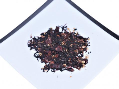 Le safran - l'or rouge des Ardennes - Thé Noir Bio Cacao Noisettes Safran, 30g, 20 Tasses