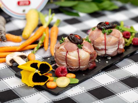 La ferme Grandvillain - Melons De Poulet Bacon Et Pruneaux 2 X 200 G