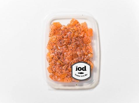 ÏOD - Dés de saumon fumé saveur coquelicot 120g