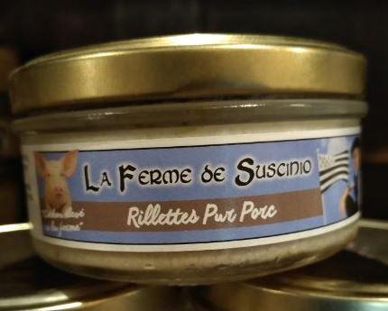 Tome de Rhuys - FermeFromagère de Suscinio - Rillettes Pur Porc