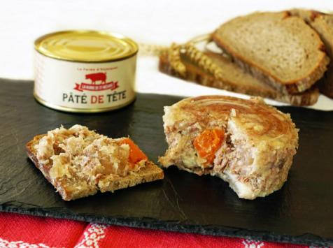 La ferme d'Enjacquet - Pâté De Tête 200g de Porc en conserve