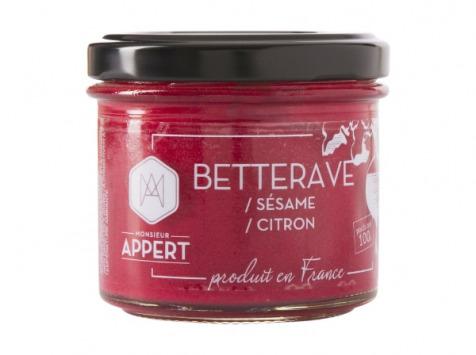 Monsieur Appert - Crème Apéritif Betterave/sésame/citron