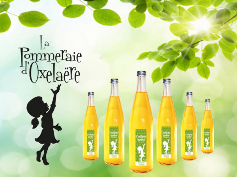 La Pommeraie d'Oxelaëre - Jus Cueillette Tardive 6 X 75 Cl