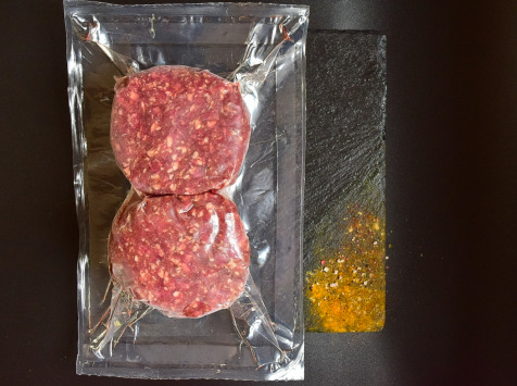 Michel et Alain Fermiers BIO - [SURGELE]  Steaks Hachés de Bœuf BIO – 8x100 g