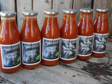 La Boite à Herbes - Lot Coulis De Tomate Ancienne Et Tomate Basilic - 6x50cl