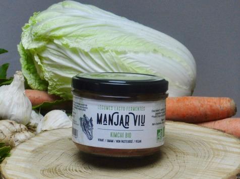 Manjar Viu : Légumes lacto fermentés - Kimchi - Lacto-fermentées BIO - 220g