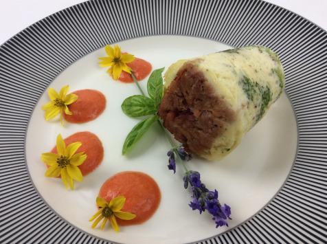 Christian Piot - Votre chef en ligne - Muffin de brocolis en cœur de jambon de Reims