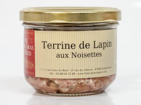 Les foies gras du Ried - Terrine De Lapin / Noisettes