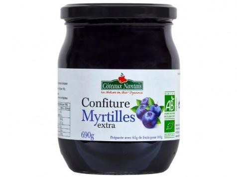 Les Côteaux Nantais - Confiture Myrtilles Extra 690g