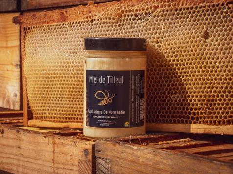 Les Ruchers de Normandie - Miel de Tilleul crémeux 500g