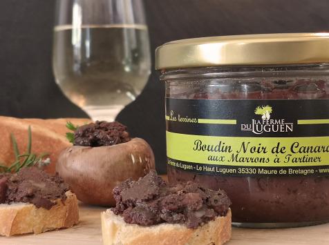 La Ferme du Luguen - Boudin Noir De Canard À Tartiner 180 g