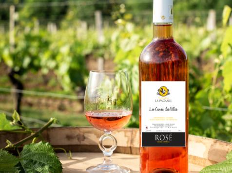 Domaine la Paganie - Rosé Cuvée des filles 6 Bouteilles - Vin de France