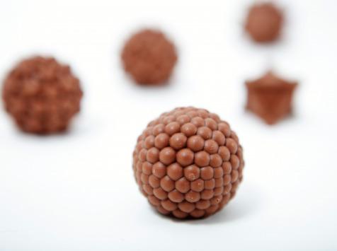 Les 3Dandies - Coffret De Six Chocolats Pralinés Bio Et Équitable, Enrobage Chocolat Au Lait 39%