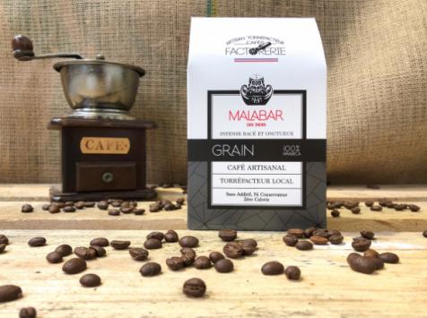 Cafés Factorerie - Café Malabar des Indes GRAIN - 250 gr