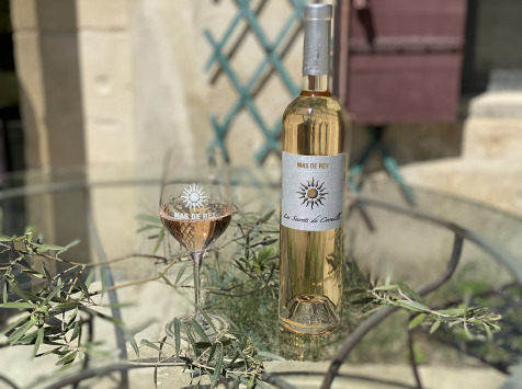 Domaine du Mas de Rey - IGP Terre de Camargue - Cuvée ''Secrets de Cornille rosé 2020'', Lot de 6 Bouteilles