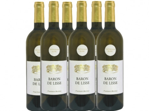 Bonas Lisse Vignoble - Sauvignon Blanc 2019 - IGP Agenais x6