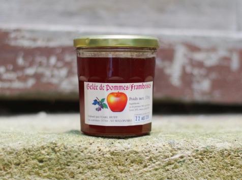 Cidrerie La Vallée du Mel - Gelée Pomme-framboise