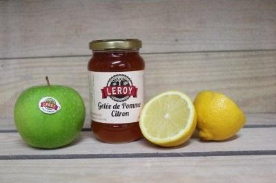 Le Châtaignier - Gelée De Pomme Citron - Pot 320g