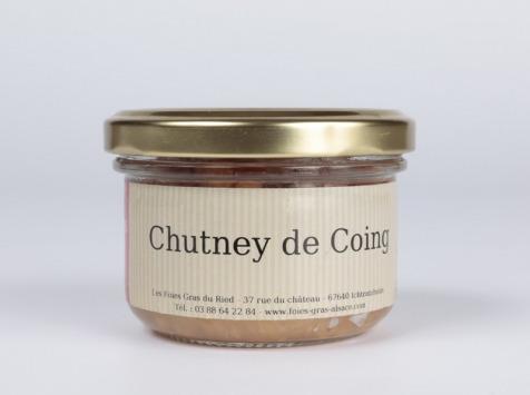 Les foies gras du Ried - Chutney De Coings