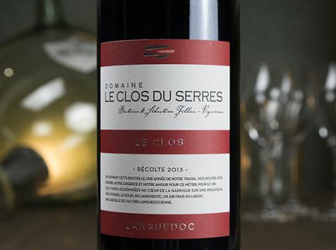 Dyvin - Domaine Clos Du Serres - Saint Jean rouge - Terrasses du Larzac - Lot De 6 Bouteilles
