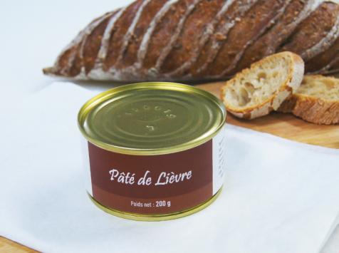 A la Truffe du Périgord - Pâté De Lièvre 200g
