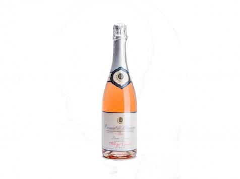 Domaine Tupinier Philippe - 1 Bouteille Crémant De Bourgogne Rosé