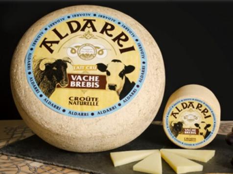 La Fromagerie des Aldudes - Tome Mixte Au Lait Cru De Brebis Manech et de Vache du Pays Basque