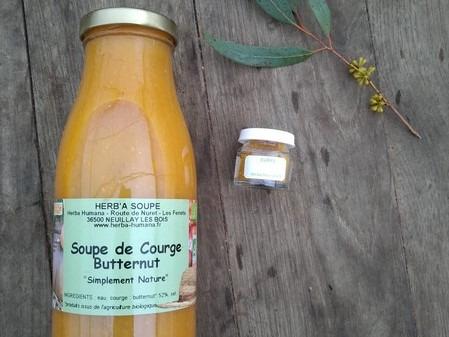HERBA HUMANA - Soupe De Butternut Et Curry
