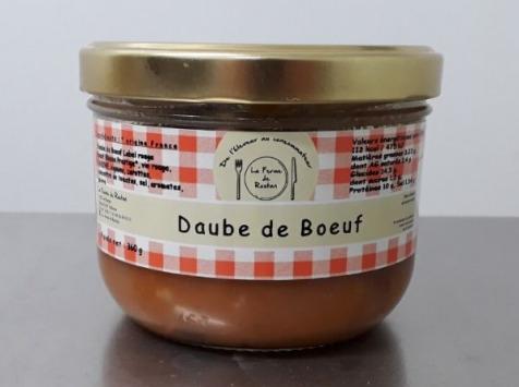 La ferme de Rustan - Daube de Bœuf 360 G