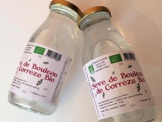 La Ferme des petits fruits - Sève De Bouleau Bio Pasteurisée : Cure