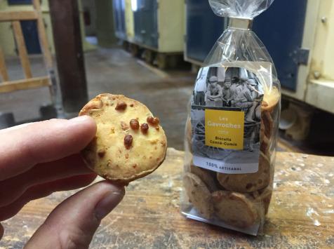 Moulins de Versailles - Biscuits Comté-cumin - 100g