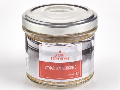La Tarte Tropézienne - Caviar d'aubergines