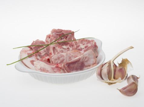 Coopérative Axuria - Sauté agneau de lait des Pyrénées LABEL ROUGE IGP avec os