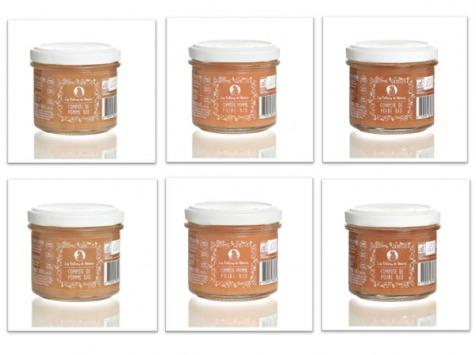 Les délices de Noémie - Lot De Compotes Bio pour bébé 4mois: Pomme (x2), Poire (x2) Et Pomme-poire (x2)