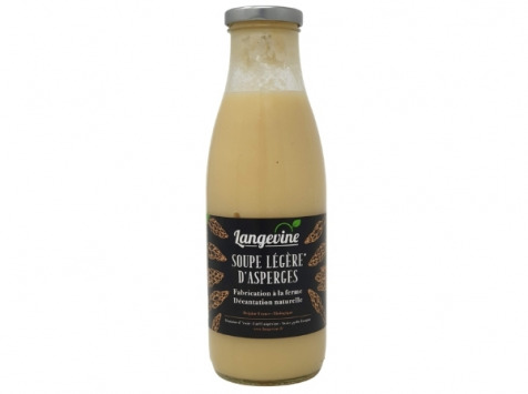 EARL Langevine - Soupe Légère D'asperge 75 Cl