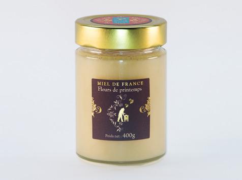 Domaine Apicole du Pillardon - Miel de France Fleurs de Printemps n°1 Récolte 2019 - 400 g